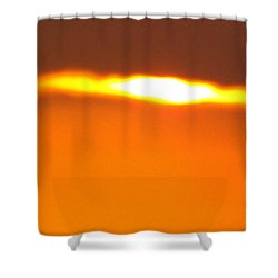 Ozark Sunset 2 Shower Curtain by Don Koester