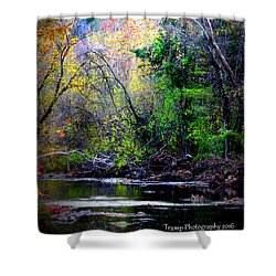 Ozarks Fall Shower Curtain