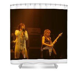 Ozzy Ozbourne And Randy Rhoads Shower Curtain
