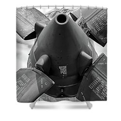 P-3 Prop Shower Curtain