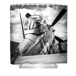 P-51 Mustang Series 2 Shower Curtain
