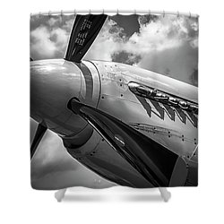 P-51 Mustang Series 3 Shower Curtain