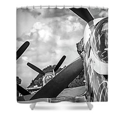 P-51 Mustang - Series 4 Shower Curtain