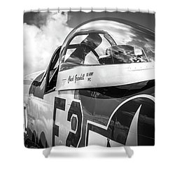P-51 Mustang - Series 5 Shower Curtain