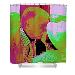 P3 Shower Curtain by Jesse Ciazza