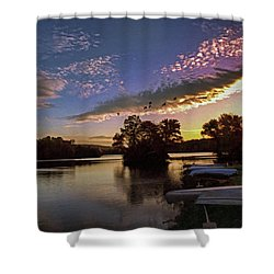 Pa French Creek 2074 Shower Curtain by Scott McAllister