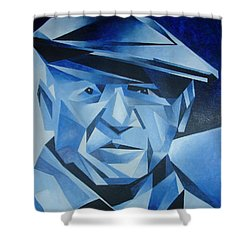 Pablo Picasso The Blue Period Shower Curtain by Tracey Harrington-Simpson