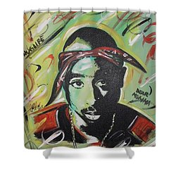 Pac Mentality Shower Curtain