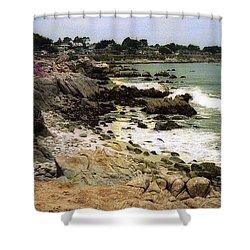 Pacific California Coast Beach Shower Curtain