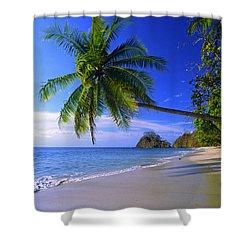 Pacific Coast Beach, Costa Rica Shower Curtain