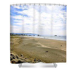 Pacific Coast California Shower Curtain
