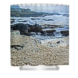 Pacific Gift Shower Curtain by Dale Stillman