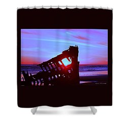 Pacific Glow Shower Curtain
