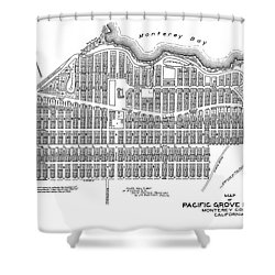 Pacific Grove May 7 1887 Shower Curtain