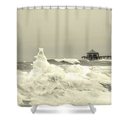 Pacific Love Shower Curtain