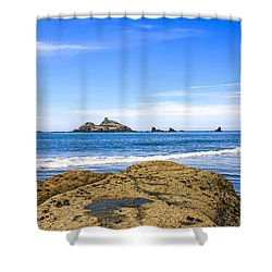 Pacific North West Coast Shower Curtain