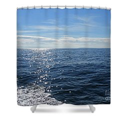Pacific Ocean Shower Curtain by Cindy Murphy - NightVisions