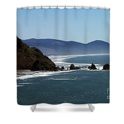 Pacific Ocean View 2 Shower Curtain