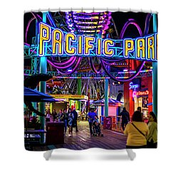 Pacific Park - On The Pier Shower Curtain