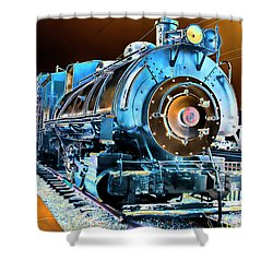 Pacific Southwest Railway And Meseum Shower Curtain by Daniel Hebard