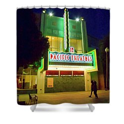 Shower Curtain featuring the photograph Pacific Theater - Culver City by Chuck Staley