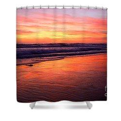 Cardiff Coast  Shower Curtain