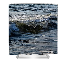 Pacific Waves Shower Curtain