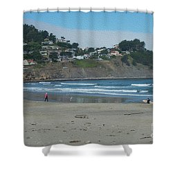 Shower Curtain featuring the photograph Pacifica California by David Bearden