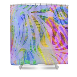 Pacifica Shower Curtain by Nareeta Martin