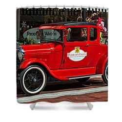 Packed For Christmas Shower Curtain by Christopher Holmes