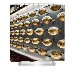Packers Wall Of Fame Shower Curtain