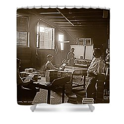 Shower Curtain featuring the photograph Packing Cigars Key West Florida by John Stephens