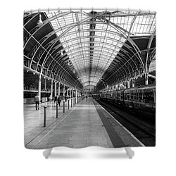 Paddington Station Shower Curtain