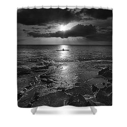 Paddle To The Sun Shower Curtain