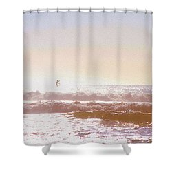 Paddleboarders Shower Curtain