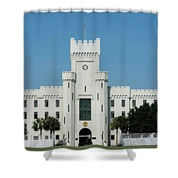 Padgett-thomas Barracks Shower Curtain