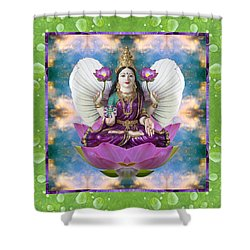 Padma Lotus Shower Curtain by Bell And Todd