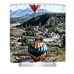 Pagosa Springs Colorfest 2015 Shower Curtain
