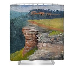Pagosa Springs View Shower Curtain