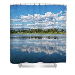 Pagosa Summer Reflections Shower Curtain