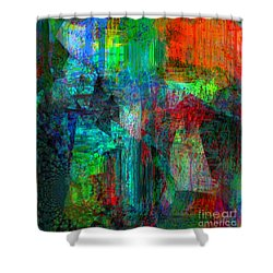 Pain Is Universal Shower Curtain