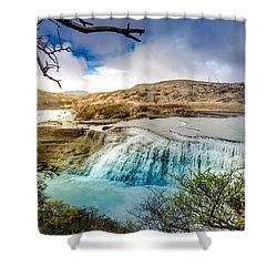 Paine Waterfall Shower Curtain