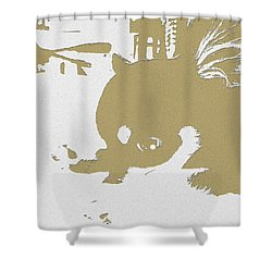 Cutie Shower Curtain by Roro Rop