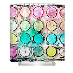 Paint Colors Shower Curtain