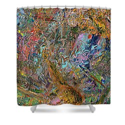Paint Number 26 Shower Curtain by James W Johnson