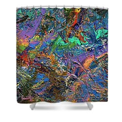 Paint Number 28 Shower Curtain by James W Johnson