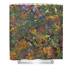Paint Number 29 Shower Curtain by James W Johnson