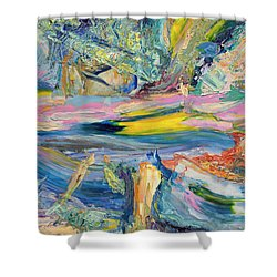 Paint Number 31 Shower Curtain by James W Johnson
