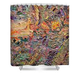 Paint Number 34 Shower Curtain by James W Johnson
