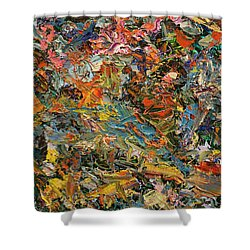 Paint Number 35 Shower Curtain by James W Johnson